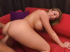 Hot blonde with perfect tits loves fucking cock tubes