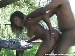Sex in the garden with a pretty black girl tubes