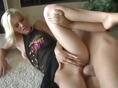 Blonde looks flawless with a dick in her vagina tubes