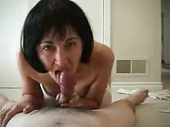 Wife in amazing lingerie sits on her man tubes