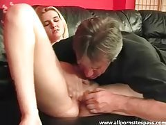 Petite blonde babe getting her juicy pussy eaten out tubes