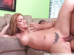 Shaved and tattooed girl fucked hard tubes