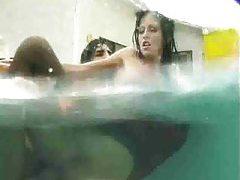 Underwater sex with a slutty schoolgirl tubes
