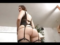 Beauty in lingerie has the finest big ass ever tubes