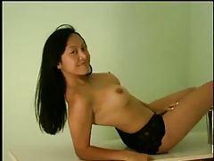 Cute young Asian bikini tease and solo nudes tubes