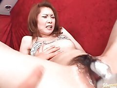 Gooey Japanese pussy and ass toy fucked tubes