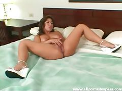 Horny Asian milf enjoys interracial sex in hotel room tubes
