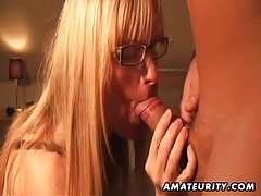 Busty amateur Milf anal with cum in mouth tubes