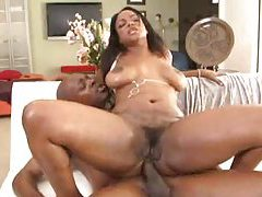 Cock riding curvy girl fuck fun and cum on tits tubes