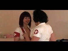 Latex Nurses CBT Their Male Submissive tubes