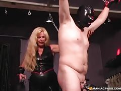 Very kinky blonde milf hogties her horny husband tubes
