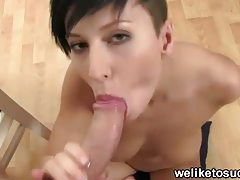 Punk girl sucks cock for fun tubes