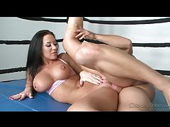 Jayden Jaymes in a boxing ring fucked real good tubes