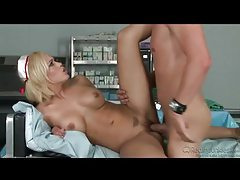 Sex with a horny nurse in high heels tubes