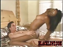 Black fox with gorgeous ass fucking thick dick tubes