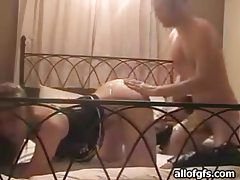 Sweet young GF in lingerie fucked lustily tubes