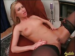 A lusty anal ride on a big black cock tubes