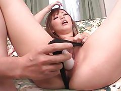 Cumshots glaze her pretty face tubes