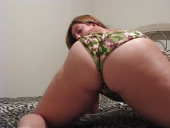 BBW in bikini bottoms shakes it for you tubes