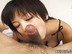 Shaved pussy Asian Meguru Kosaka nailing tubes