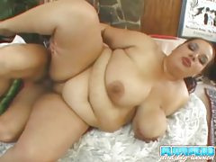 Hot fat cocksucker fucked in her box tubes