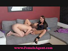 FemaleAgent Shy hippie tastes pussy tubes