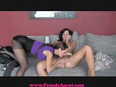 FemaleAgent Shy student blossoms tubes
