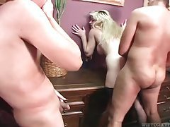 Big creampie in her cunt in fuck from behind tubes