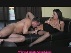 FemaleAgent Cocky casting gets dominated tubes