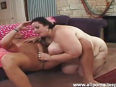Fat chick wants to go for a ride on hard cock tubes