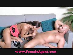 FemaleAgent Big cock casting tubes