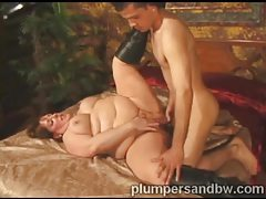 Black leather boots on fat chick fucking from behind tubes