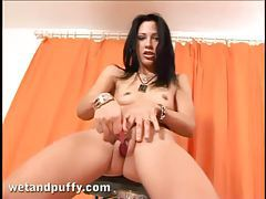 Total cutie with a hot pussy masturbates tubes