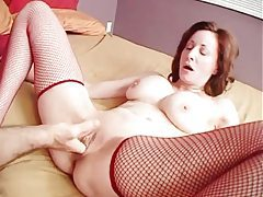 Big tits milf fucked in shaved box until he cums tubes
