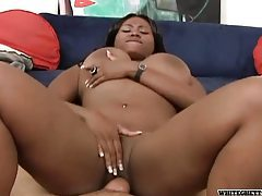 White cock fucks a big ass black girl tubes