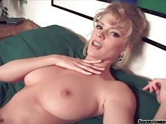 Glamorous beauty with big natural tits fingers tubes