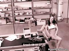 Security camera masturbation turns on skinny girl tubes