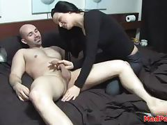 Laundry day sex with his amateur GF tubes