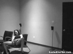 Caught masturbating in voyeur video tubes