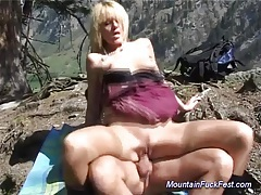 Mountain fuck fest blonde sex tubes