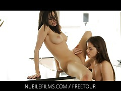 Caprice's girlfriend seduction tubes
