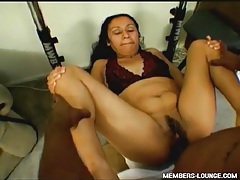 Huge black dick fucks Indian pussy hardcore tubes