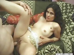 Indian milf laid sensually by his cock tubes