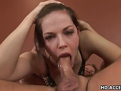 Hot chick wildest blowjob in history right here tubes