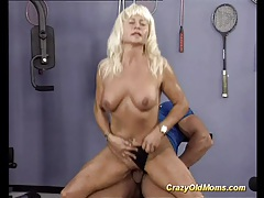 Crazy old mom gets hard fucked tubes