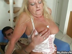 Granny in white stockings banged hardcore tubes