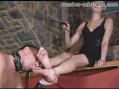 Mistress with riding crop wants feet worshiped tubes