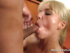 Hot Cum Compliments Her Next Promotion tubes