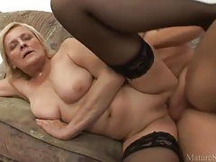 Granny foreplay and shaved pussy hardcore tubes