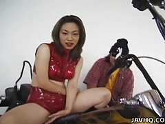 Asian with big tits solo masturbation tubes